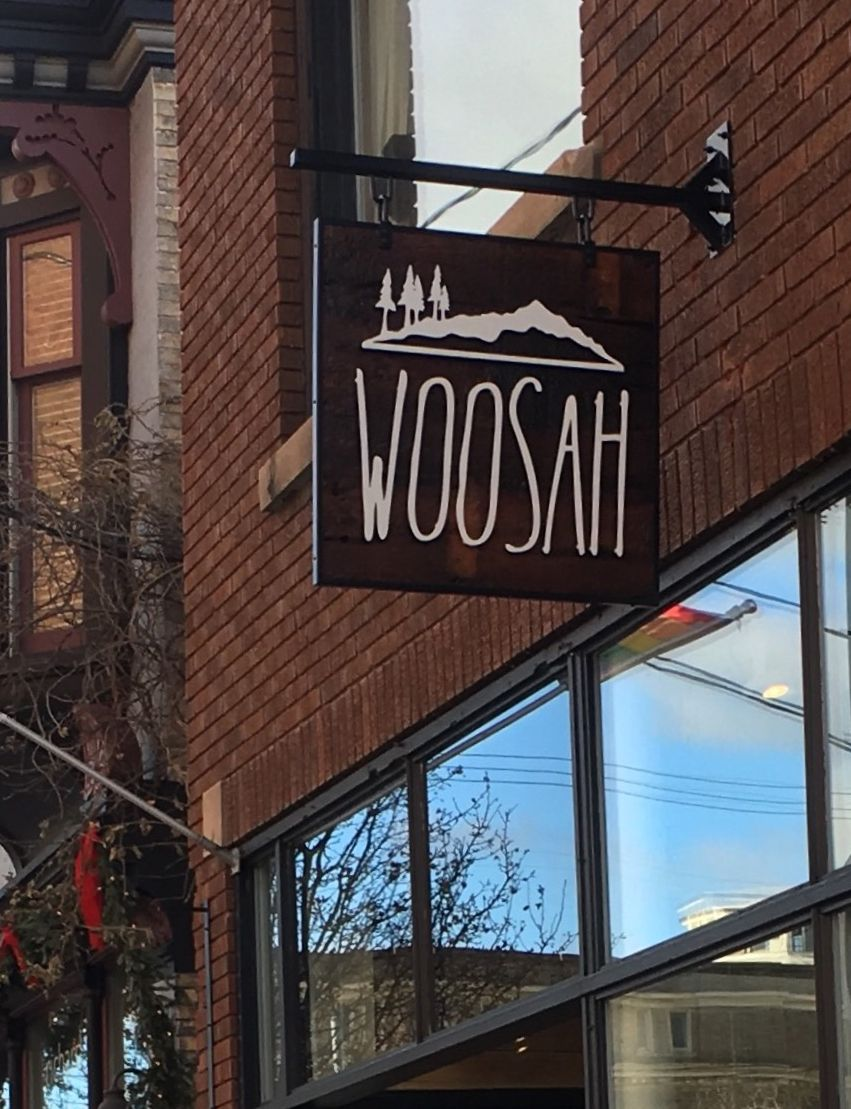 Woosah Sign