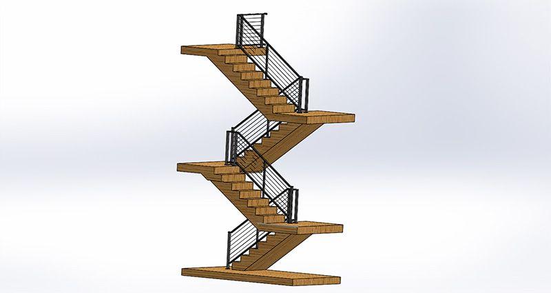 Indoor Railing Design Process